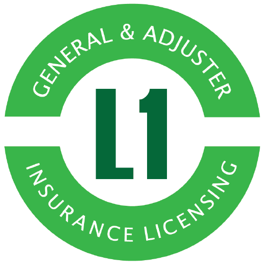 L1 General Adjuster Insurance Licensing Logo