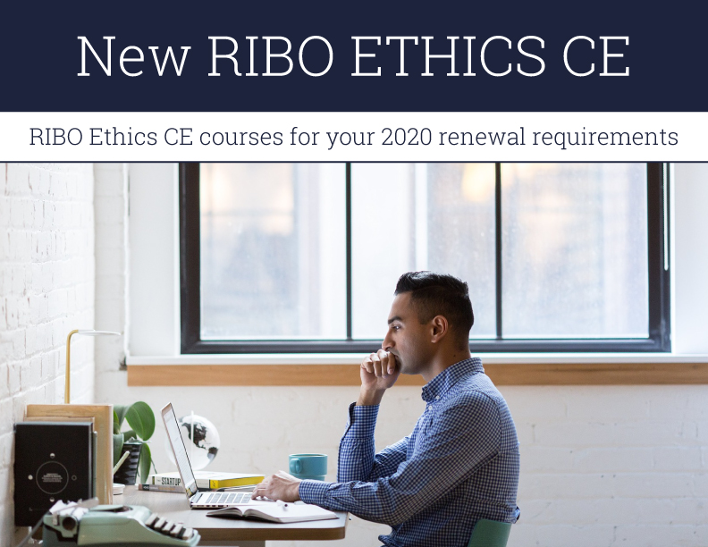 Making the Right Ethical Decisions RIBO Ethics CE Course